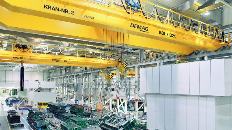 Process cranes for automotive industry 39140-9