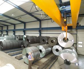 double-girder overhead travelling crane