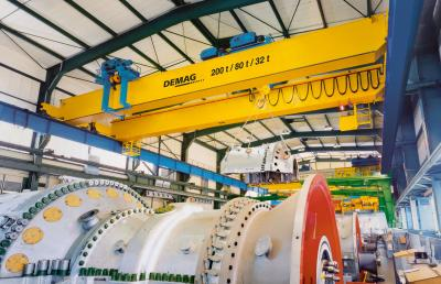 Process cranes for process integration