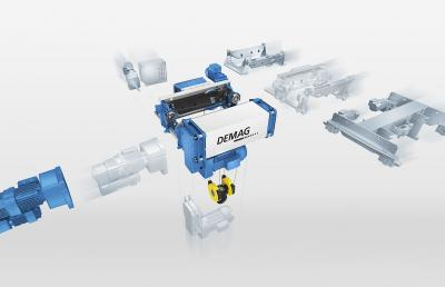 Demag DMR rope hoist Hero